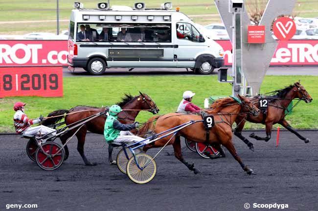 12/01/2019 - Vincennes - Prix Maurice de Gheest : Result