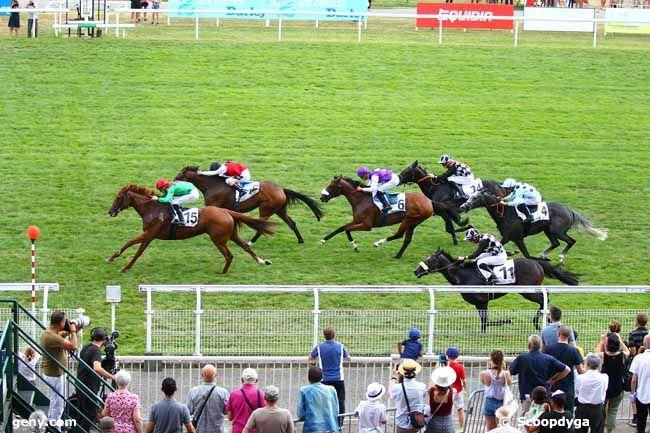 22/07/2018 - Maisons-Laffitte - Prix de l'Hippodrome de Maisons-Laffitte : Arrivée