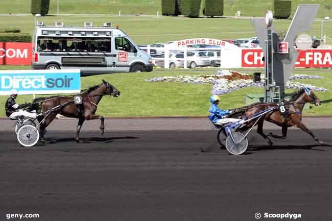 10/04/2010 - Vincennes - Prix du Tréport : Arrivée