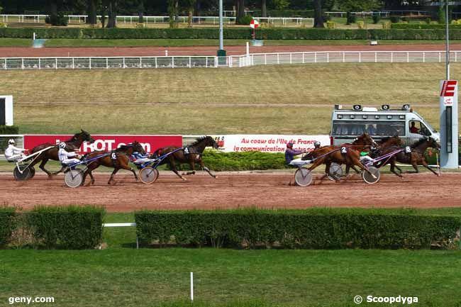 12/08/2015 - Enghien - Prix du Pont de l'Alma : Arrivée