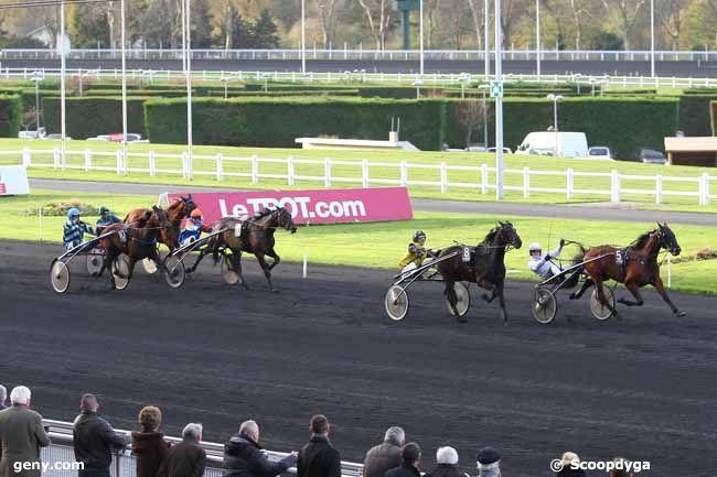 28/11/2015 - Vincennes - Prix de Chenonceaux : Arrivée