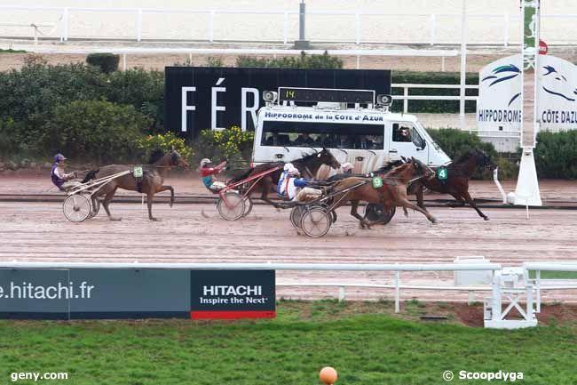 14/01/2016 - Cagnes-sur-Mer - Prix de la Côte d'Azur : Arrivée