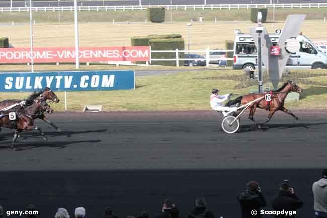 26/02/2012 - Vincennes - Prix de la Mayenne : Arrivée