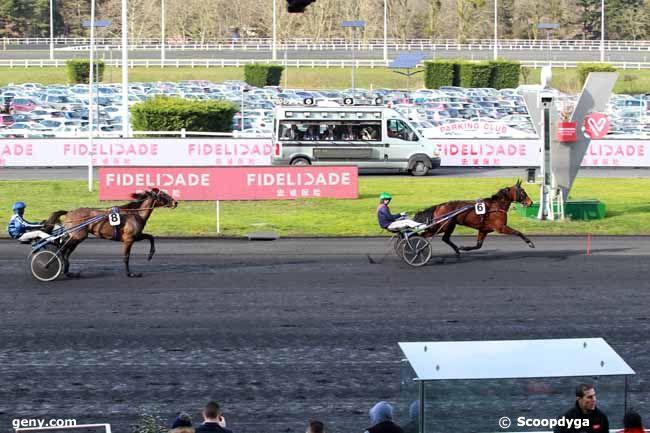 10/02/2019 - Vincennes - Prix de Chambord : Arrivée