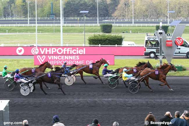 13/04/2019 - Vincennes - Prix de Château-Gaillard : Arrivée