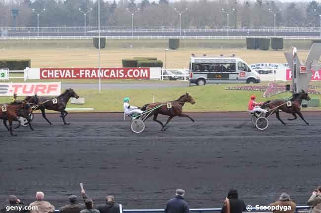 04/02/2009 - Vincennes - Prix de l'Ille-et-Vilaine : Arrivée