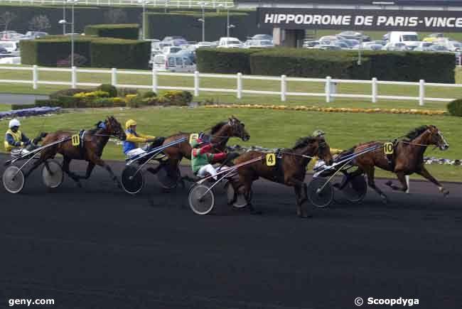 04/04/2009 - Vincennes - Prix du Tréport : Arrivée