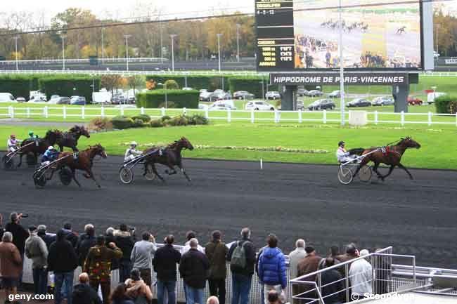 15/11/2014 - Vincennes - Prix de Bretagne : Arrivée