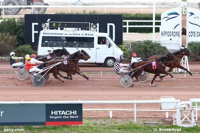 03/02/2015 - Cagnes-sur-Mer - Prix des Boutons d'Or : Arrivée