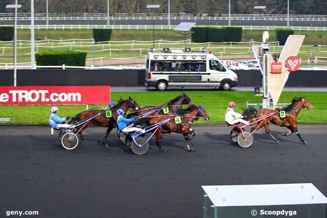 23/01/2018 - Vincennes - Prix de Pont-Audemer : Arrivée