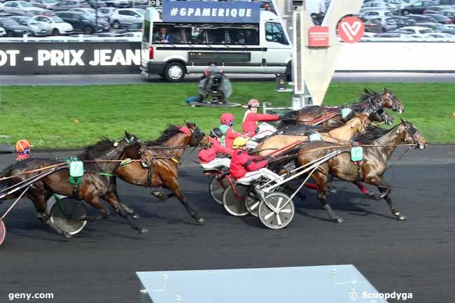 28/01/2018 - Vincennes - Prix Jean-René Gougeon : Arrivée