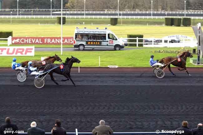 02/12/2008 - Vincennes - Prix de Saint-Jean-de-Monts (Gr A) : Arrivée
