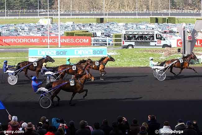 14/02/2010 - Vincennes - Prix de France : Arrivée