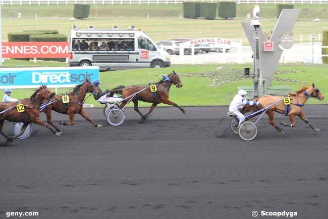15/12/2010 - Vincennes - Prix Poitou-Charentes : Arrivée