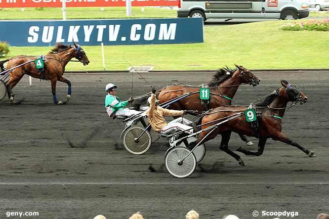 11/06/2011 - Vincennes - Prix Louis Jariel : Arrivée