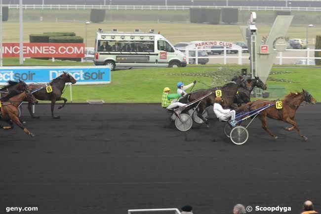 01/01/2011 - Vincennes - Prix du Croisé-Laroche : Arrivée