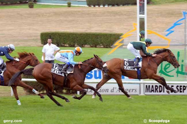 15/09/2009 - Le Lion-d'Angers - Grand Handicap du Lion d'Angers : Arrivée