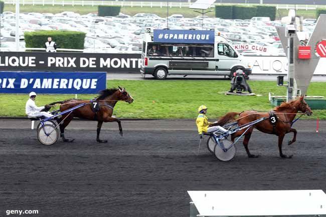 28/01/2018 - Vincennes - Prix de Montréal : Arrivée