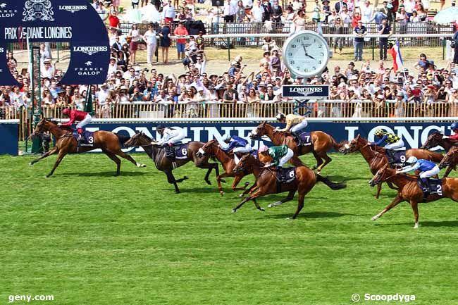 14/06/2015 - Chantilly - Prix de Diane Longines : Arrivée