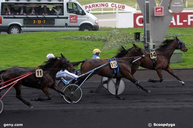 01/01/2010 - Vincennes - Prix du Croisé-Laroche : Arrivée
