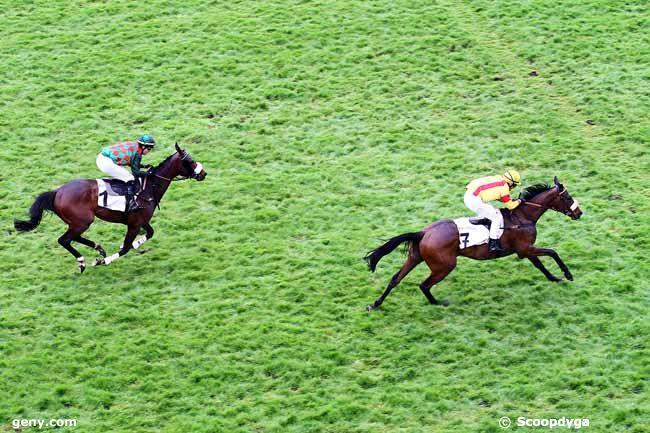 26/04/2015 - Auteuil - Prix Gaston Branère : Arrivée