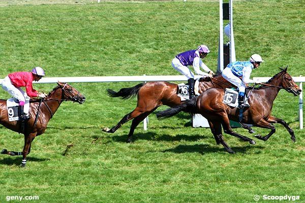 21/04/2011 - Saint-Cloud - Prix du Béarn : Arrivée